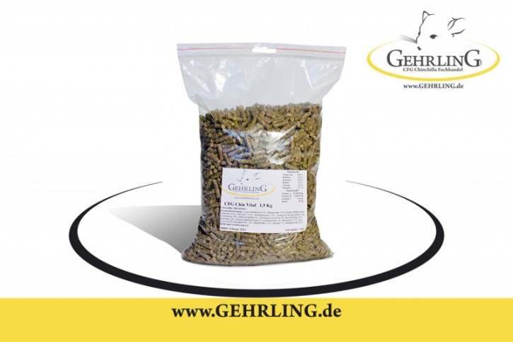Chinchillafutter 1,5 kg